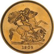 5 Pounds - Edward VII (Coronation) – revers