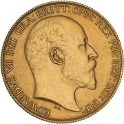 2 Pounds - Edward VII (Coronation) – avers