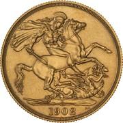 2 Pounds - Edward VII (Coronation) – revers
