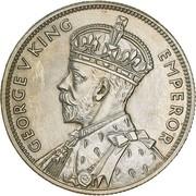 1 Florin - George V (Victoria and Melbourne Centenary) – avers