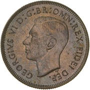 1 Florin - George VI (50 Years of Federation) -  avers