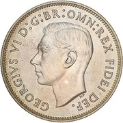 1 Florin - George VI (50 Years of Federation; Pattern) -  avers