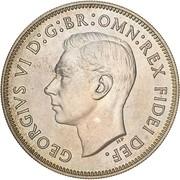 1 florin - George VI (50 ans de la fédération, essai) – avers