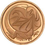 2 cents Elizabeth II (2e effigie) -  revers