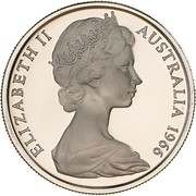 10 cents Elizabeth II (2e effigie) -  avers