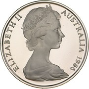 20 cents Elizabeth II (2e effigie) -  avers