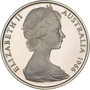 20 cents Elizabeth II (2e effigie) -  avers