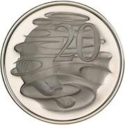 20 cents Elizabeth II (2e effigie) -  revers