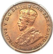 1 penny - George V -  avers