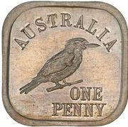 1 Penny - George V (Kookaburra Pattern - Type 7) – revers