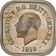 1 Penny - George V (Essai) -  avers