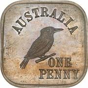 1 Penny - George V (Essai) -  revers