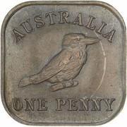 1 Penny - George V (Kookaburra Pattern - Type 13 (Renniks 12)) – revers