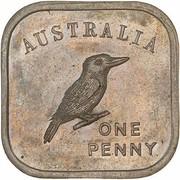 1 Penny - George V (Kookaburra Pattern - Type 3) – revers