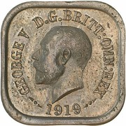 1 Penny - George V (Kookaburra Pattern - Type 4) – avers