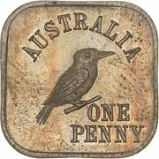1 Penny - George V (Kookaburra Pattern - Type 4) – revers