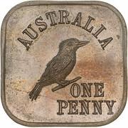 1 Penny - George V (Kookaburra Pattern - Type 5) – revers