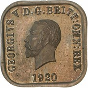 1 Penny - George V (Kookaburra Pattern - Type 9) – avers