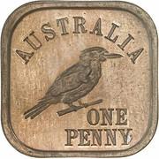 1 Penny - George V (Kookaburra Pattern - Type 9) – revers