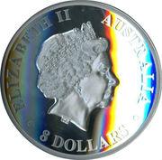 8 Dollars - Elizabeth II (Koala) -  avers