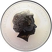 1 dollar Année du bœuf (série II, colorée) -  avers