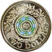 2 Dollars - Elizabeth II (Jour du Souvenir) -  revers