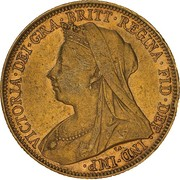 1 Sovereign - Victoria – avers