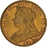 1 Sovereign - Victoria -  avers