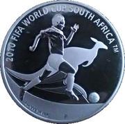 1 Dollar - Elizabeth II (Coupe du monde de football Afrique du Sud 2010) -  revers