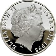 10 Dollars - Elizabeth II (Wombat) -  avers