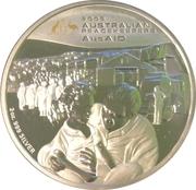 2 Dollars - Elizabeth II (Australian Peacekeepers - AusAID) -  revers