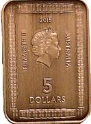 5 Dollars - Elizabeth II (Magna Carta ) – avers