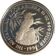 50 Dollars - Elizabeth II Australian Kookaburra -  revers