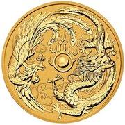 100 Dollars - Elizabeth II (Dragon & Phénix) -  revers