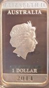 1 Dollar - Elizabeth II (Vintage Travel) -  avers