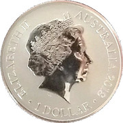 1 Dollar - Elizabeth II (Sydney new Year's Eve) -  avers