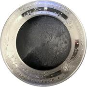 5 Dollars - Elizabeth II (The Moon) -  revers
