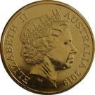 1 Dollar - Elizabeth II (50th Anniversary Moon Landing) – avers