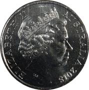 20 Cents - Elizabeth II (Anzac Spirit - Patriotic) -  avers