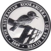 1 dollar - Elizabeth II (Australian Kookaburra) -  revers