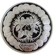 "5 Dollars - Elizabeth II ""Sydney 2000 Series"" Silver Bullion Coinage – revers"