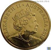 1 Dollar - Elizabeth II (Mr Squiggle 60 Years) -  avers