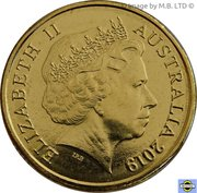 2 Dollar - Elizabeth II Mr Squiggle 60 Years -  avers