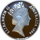 5 Dollars - Elizabeth II (Sir Douglas Mawson) – avers