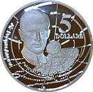 5 Dollars - Elizabeth II (Sir Douglas Mawson) – revers