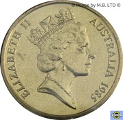 1 dollar Elizabeth II (3e effigie) -  avers