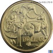 1 dollar Elizabeth II (3e effigie) -  revers