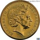 1 Dollar - Elizabeth II (4th portrait; 1882-2008 Ashes) – avers
