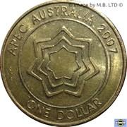 1 dollar - Elizabeth II (APEC) -  avers
