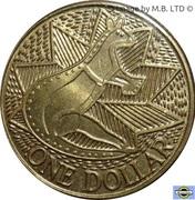 1 Dollar - Elizabeth II (Australian Bicentenaryl) -  revers